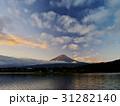 富士山 秋 夜明けの写真 31282140