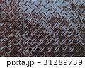 縞鋼板 チェッカープレート 背景素材 31289739