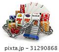 概念 ギャンブル 中毒のイラスト 31290868