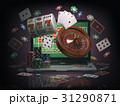 カジノ カジノの ギャンブルのイラスト 31290871
