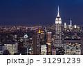 エンパイアステートビル ニューヨーク 夜景の写真 31291239