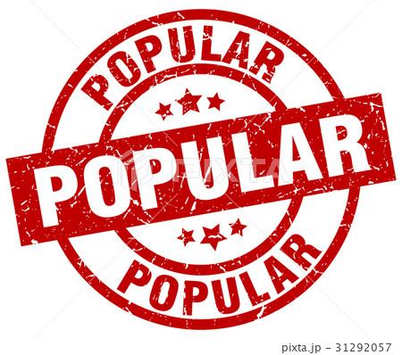 popular round red grunge stamp 31292057