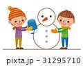 雪だるま・雪遊び 31295710
