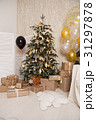 The decorated Christmas tree. A sense of 31297878