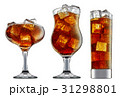 alcohol cocktail isolated on white background 31298801