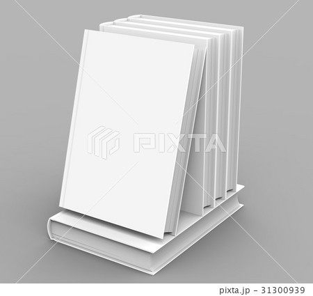 blank hard cover book templateのイラスト素材 [31300939] - PIXTA