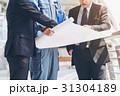 構築 設計図 ビジネスマンの写真 31304189