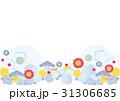 和柄 花 背景のイラスト 31306685