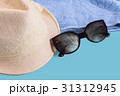 Summer woman's hat and glasses 31312945