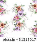 フローラル 水彩画 花のイラスト 31313017