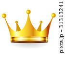 王冠 クラウン フレームのイラスト 31313241