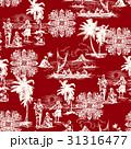 ハワイ風景柄 31316477
