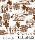 ハワイ風景柄 31316482