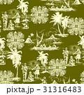 ハワイ風景柄 31316483