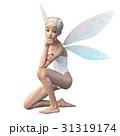 かわいい妖精 フェアリー 天使 perming3DCGイラスト素材 31319174
