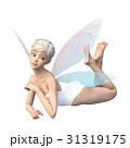 かわいい妖精 フェアリー 天使 perming3DCGイラスト素材 31319175