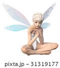 かわいい妖精 フェアリー 天使 perming3DCGイラスト素材 31319177