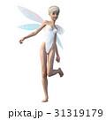かわいい妖精 フェアリー 天使 perming3DCGイラスト素材 31319179
