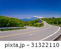 ツツジ咲く伊豆スカイライン道路から富士山を望む 31322110