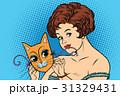 お面 マスク 面のイラスト 31329431