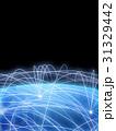 ネットワーク 地球 デジタルのイラスト 31329442