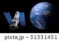 地球と人工衛星 31331451