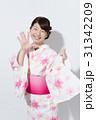 人物 女性 浴衣の写真 31342209