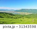 青空 快晴 高原の写真 31343598