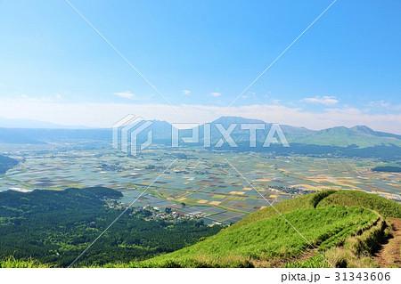 熊本県 阿蘇の風景 31343606