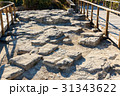 Ruin of ancient city Troy. Turkey 31343622