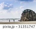 稲佐の浜 海岸 砂浜の写真 31351747