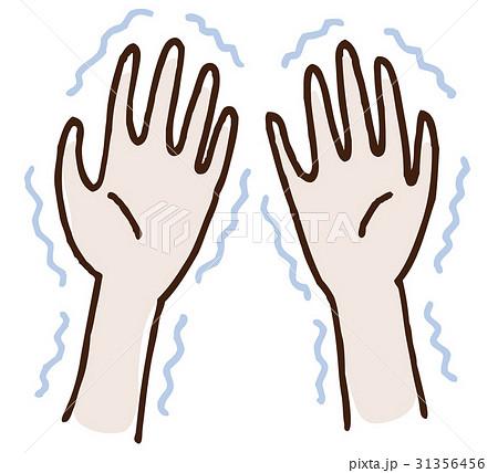 手の震え 31356456