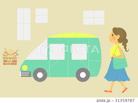 車と女性 31359787