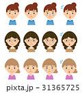 ベクター 女性 アイコンのイラスト 31365725