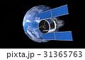 地球と人工衛星 31365763