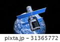 地球と人工衛星 31365772