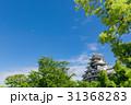 岡山_新緑に映える岡山城 31368283