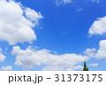 イメージ背景 青空と雲 31373175
