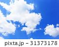 イメージ背景 青空と雲 31373178