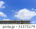 イメージ背景 青空と雲 31373179