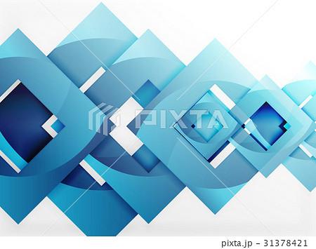 vector square template backgroundのイラスト素材 31378421 pixta