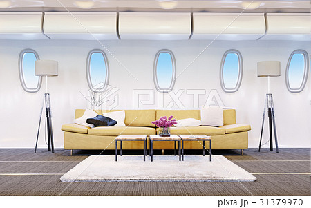 airplane cabin 31379970