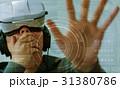 ヘッドマウントディスプレイ VRメガネ ゴーグルの写真 31380786