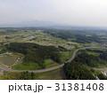 秋田県にかほ市 象潟・鳥海山空撮 31381408