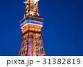 東京タワー 夜景 ライトアップの写真 31382819