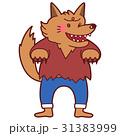ハロウィン 仮装 狼のイラスト 31383999
