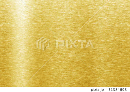 Shiny yellow leaf gold foil 31384698