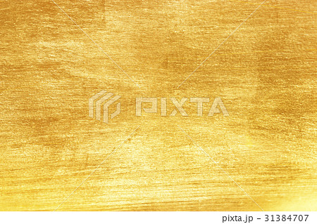 Shiny yellow leaf gold foil 31384707