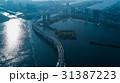 レインボーブリッジ 東京湾 海の写真 31387223