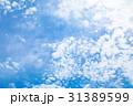 高積雲 羊雲 曇りの写真 31389599